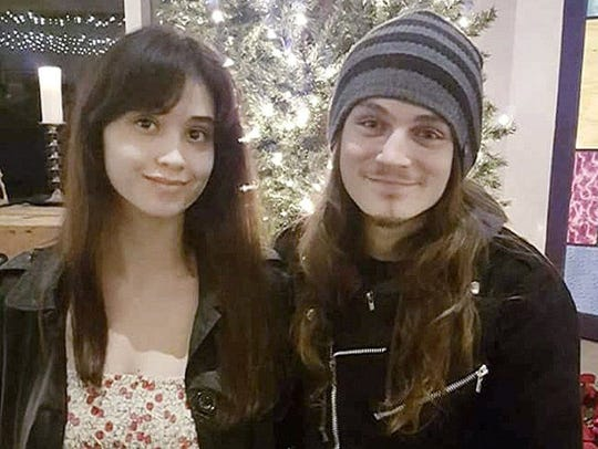 Heaven Henderson and her boyfriend, Jeremy Danowski,