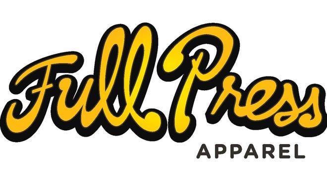 Full Press Apparel logo.