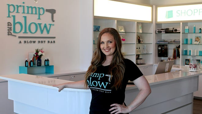 Jessica Edwards, co-owner of Frank & joe's Coffee House, recently purchased the Primp and Blow franchise in Parker Square with her mother, Carol Murray.