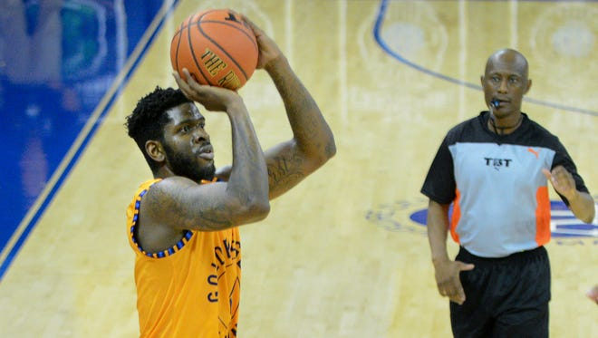 Jamil Wilson scores 24 points on Saturday as the Golden Eagles Alumni advance in The Basketball Tournament.
