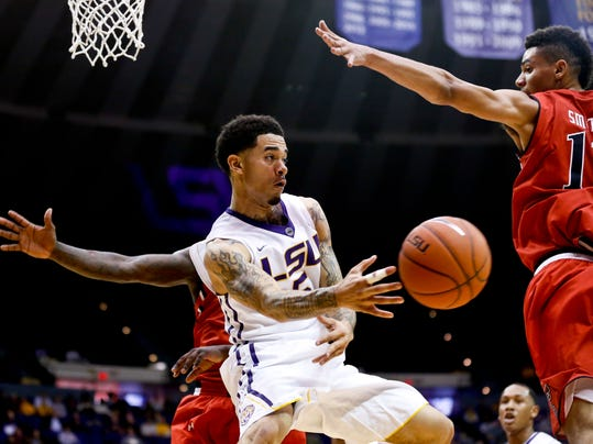 NCAA Basketball: Texas Tech at Louisiana State