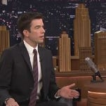 Comedian John Mulaney on the Tonight Show with Jimmy Fallon