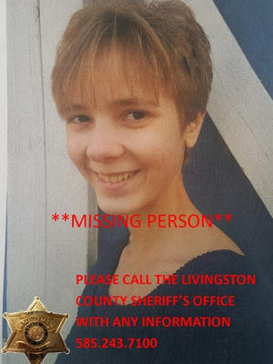 Starrlita R. Smith is missing from Livingston County. Anyone with information is asked to call (585) 243-7100.