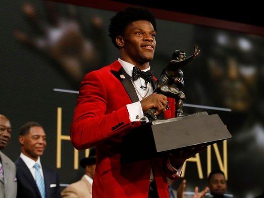 2016: Lamar Jackson, University of Louisville