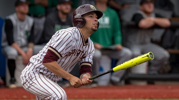 St. Thomas Aquinas College shortstop Joseph Pena was