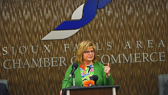 Teri Schmidt, executive director of the Sioux Falls CVB,has been named as the 2020 South Dakota Sales and Marketing Executive of the Year.