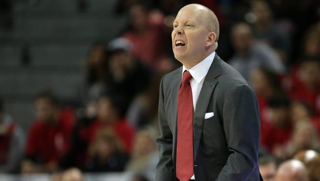Cincinnati Bearcats head coach Mick Cronin, on his No. 5-ranked team's loss at Houston: 'The tougher team won.'