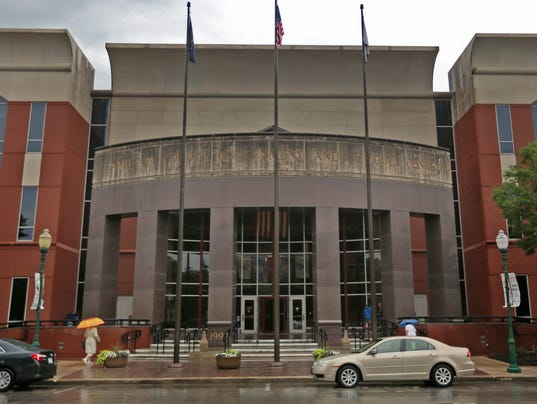 Noblesville West Middle School accused shooter has initial hearing at Hamilton County Government and Judicial Center, Monday, June 11, 2018.