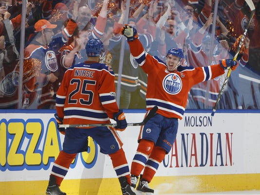 Darnell Nurse,Connor McDavid