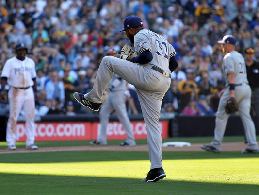 MLB: Milwaukee Brewers at San Diego Padres