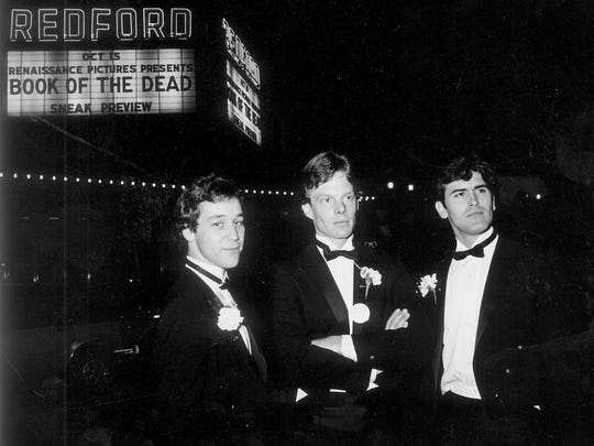 Picture taken in 1983 outside of the Redford Theater