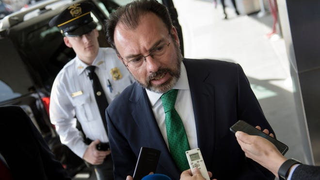 "Mexican Foreign Minister Luis Videgaray Caso took to Twitter on Tuesday to deliver a message his country has repeated again and again to the White House: Mexico will never pay for President Trump's border wall. ""We just reached a trade understanding with the US, and the outlook for the relationship between our two countries is very positive,"" he tweeted. ""We will NEVER pay for a wall, however. That has been absolutely clear from the very beginning."""