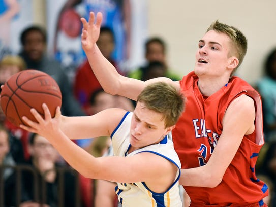 Cathedral's Keaton LeClaire gets a rebound under Apollo's