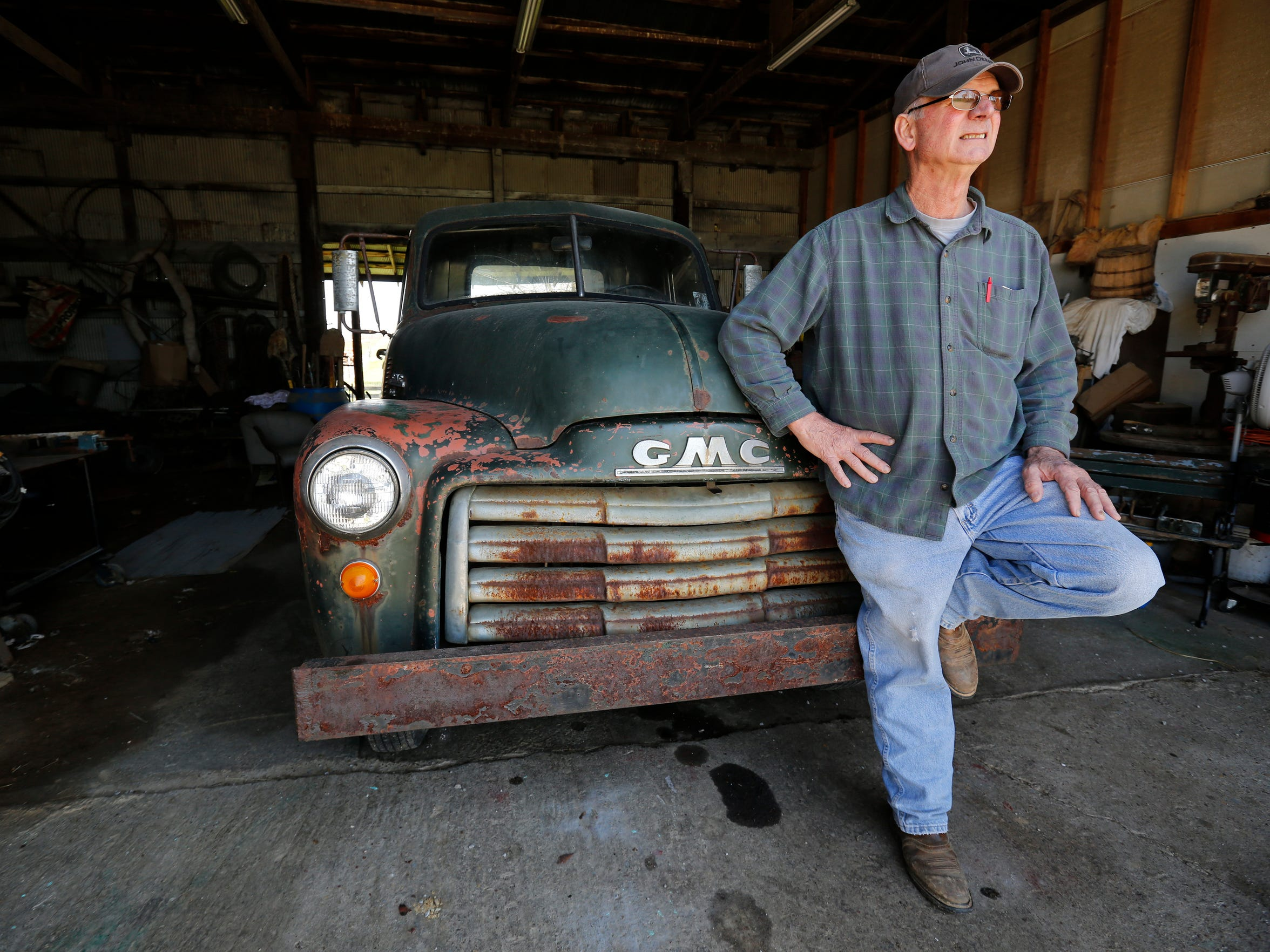 Mike Myers' family has lived on the same farm in Utica, Ind., for more than 100 years. Interstate 265 in conjunction with the new East End bridge has taken 15 acres of his land.