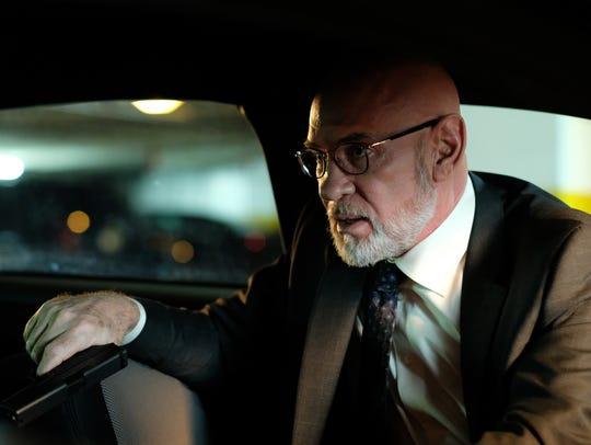 FBI Assistant Director Skinner (Mitch Pileggi) faces