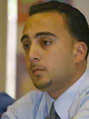 Ehab Abdelaziz of Paterson shown in a 2002 file photo