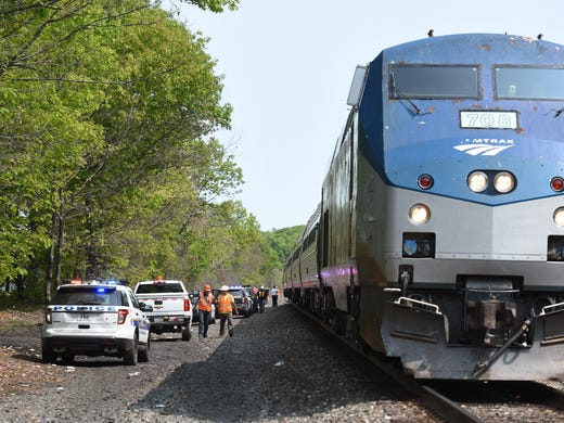 Amtrak crash with car leaves none injured