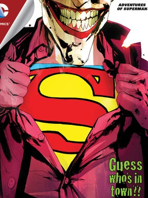 "Max Landis writes a first meeting between Superman and the Joker for ""Adventures of Superman."""