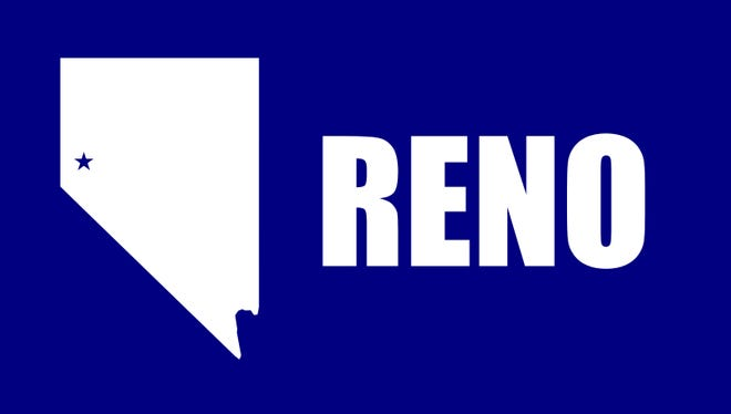 The official flag for the City of Reno.