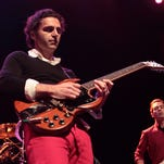 """Zappa Plays Zappa will perform at Duling Hall May 5. The band, which includes musician Frank Zappa's eldest son Dweezil (left), aims to expose a new generation to Zappa's discography. On this tour, the band is honoring the 40th anniversary of the album """"One Size Fits All."""""""