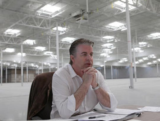 Martin Dolemo, CEO of Saxony Group, pictured in a Desert Sun file photo. Dolemo had sought to turn the former Sam's Club building in La Quinta into an events space.