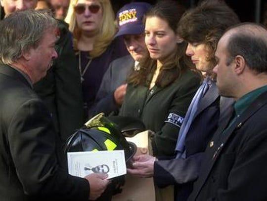 Eve Bucca, widow of NYC Fire Marshal Ronald Bucca,