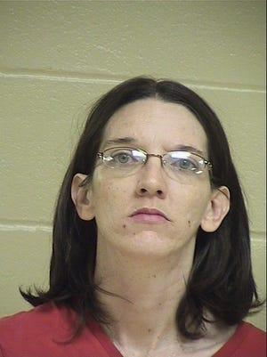 Brandy Lynn Shacklefor, 32, following her May 27 arrest.