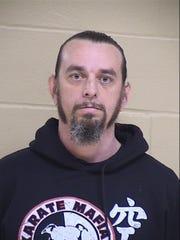 Donald Aaron, 43, of the 4200 block of Wildwood Drive,