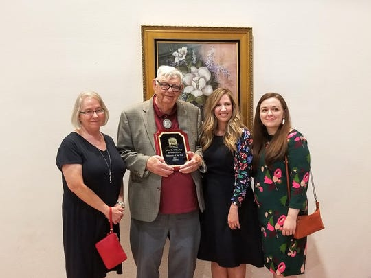 John D. Wheeler and Associates were presented the Business of the Year award at this year's Alamogordo Chamber of Commerce annual banquet Saturday at the Tays Special Events Center.
