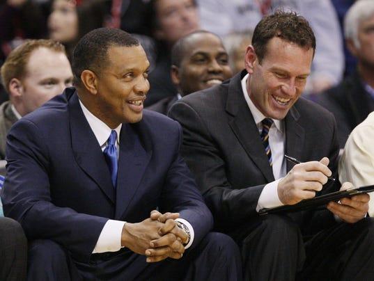 156896 Suns Clippers coach Alvin Gentry  Dan Majerle