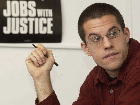 James Haslam, director of the Vermont Workers' Center,