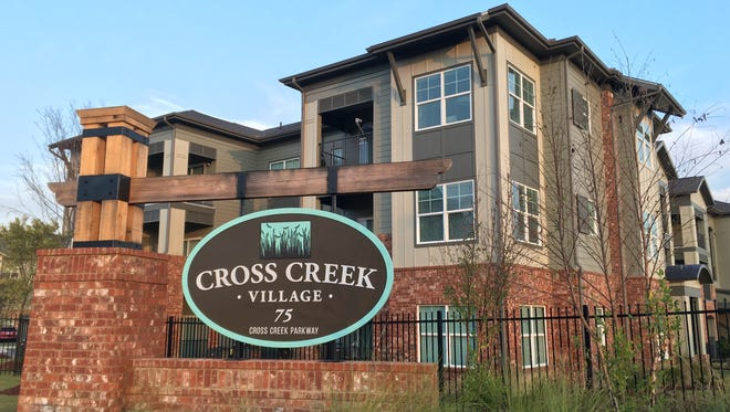 The grand opening of Cross Creek Village will be at 1 p.m. Wednesday.