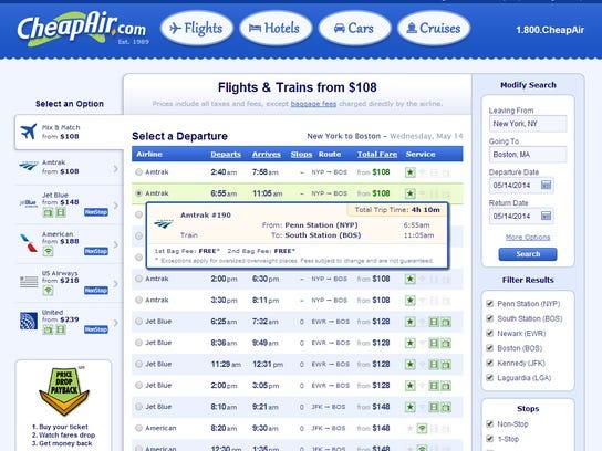 CheapAir Amtrak 2