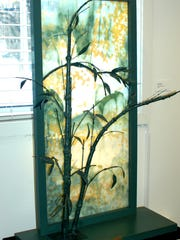 """""""Bamboo Curtain"""" by Mary Sixbey"""