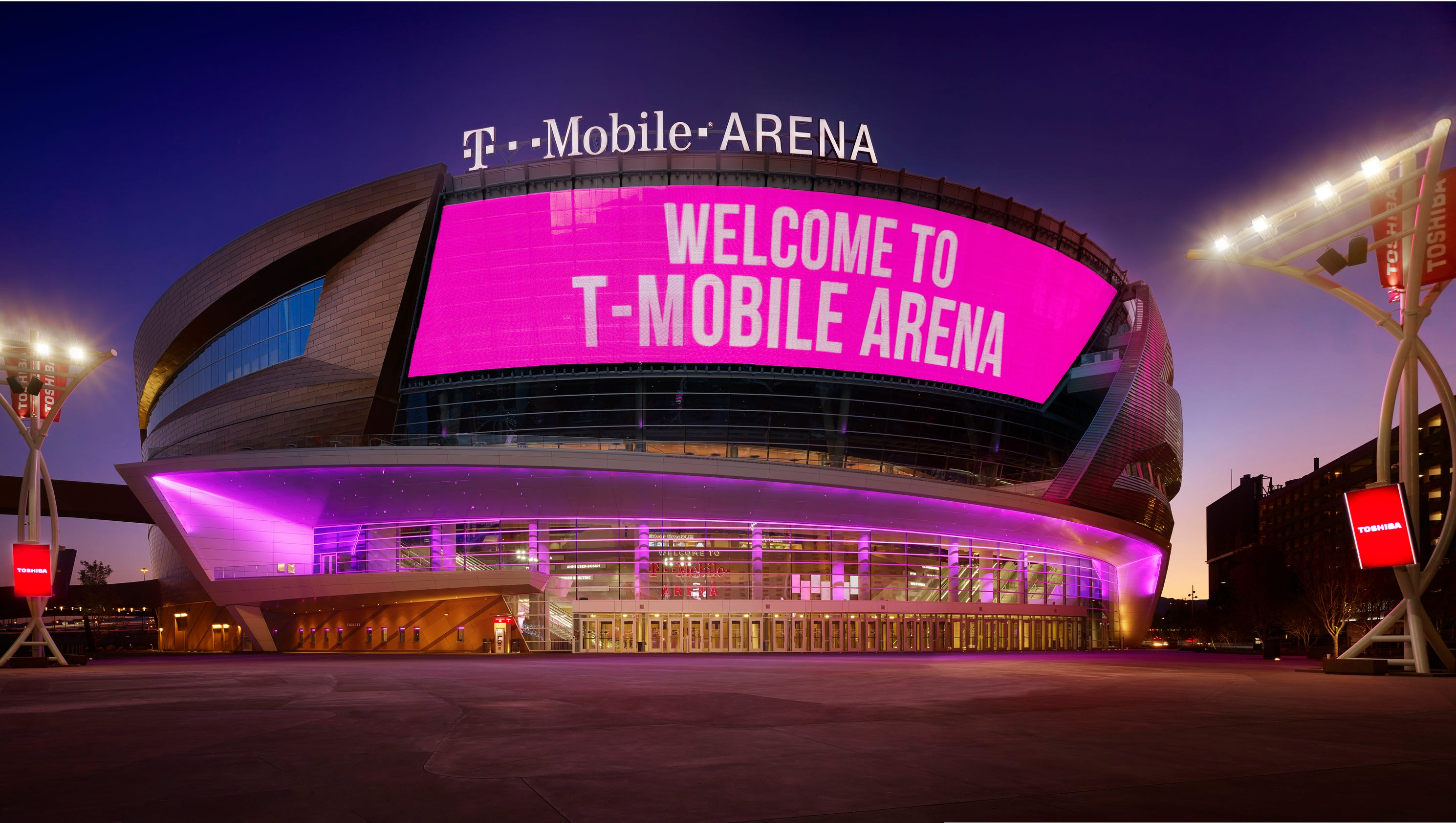 First Look Las Vegas New T Mobile Arena