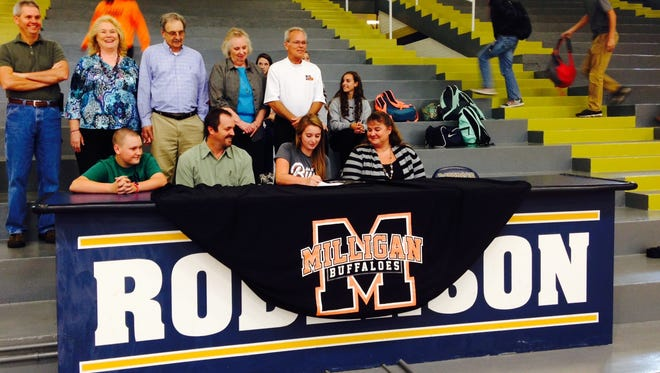 Roberson's Kassi Butcher has signed to play college softball for Milligan (Tenn.).