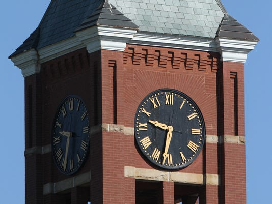 Courthouse clock generic