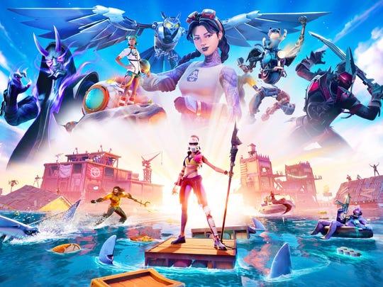 Promotional art for Epic Games' Fortnite.