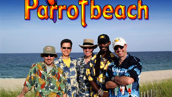 Parrotbeach performs a free show at the Tropicana's Grand Exhibition Center Saturday at 8 p.m.