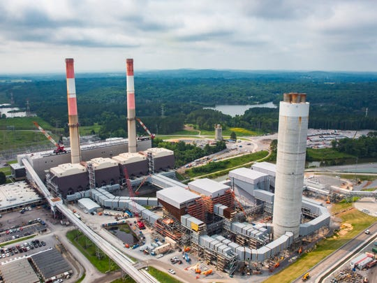 The Tennessee Valley Authority has completed the installation