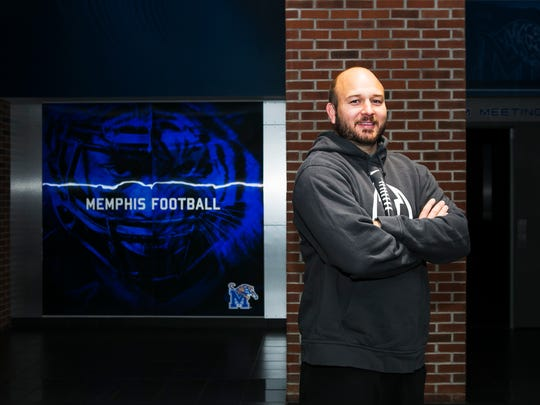 December 13, 2016 - Jeff Kupper is the director of football operations for the University of Memphis. He's one of the people making up the backbone of the program.