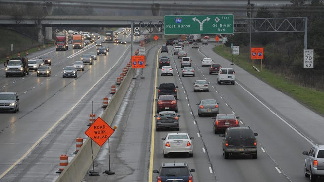 A seven-mile stretch of Interstate 275 was shut down at midnight Monday from 5 Mile to I-96/696/M-5 interchange as part of an $75 million project.