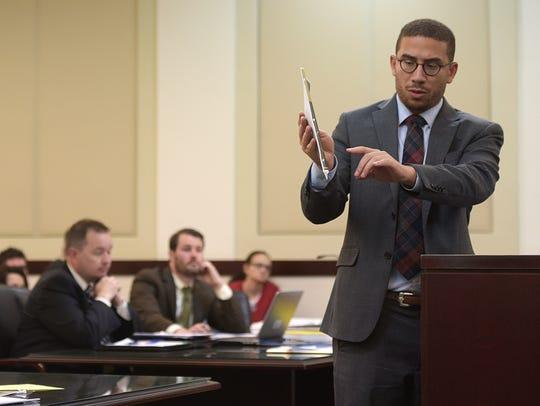 Assistant Public Defender Jared Mollenkof