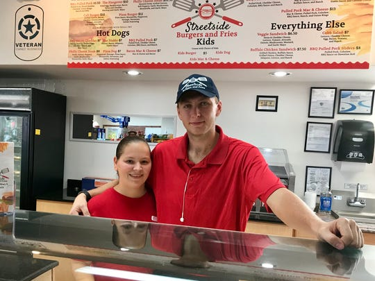 Bryanne Voelker and Christopher King opened StreetSide Burgers on Nov. 17 in northeast Cape Coral.