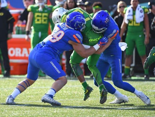 NCAA Football: Las Vegas Bowl-Boise State vs Oregon