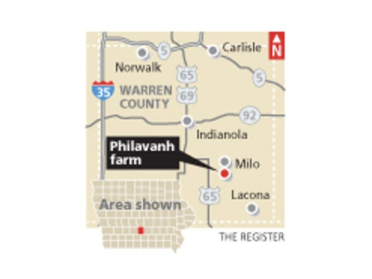 "Phrakhounmany ""Air"" Philavanh's Warren County farm."