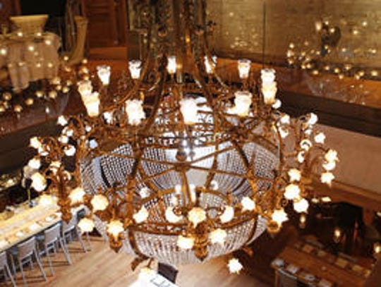 Boca chandelier