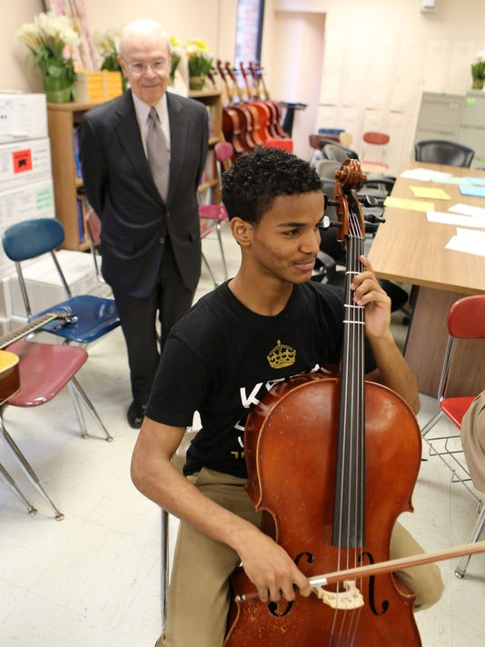 Cello WQXR donation