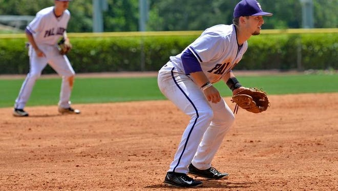 Furman freshman third baseman/pitcher Jake Crawford has been a force offensively and as the team's closer this year.