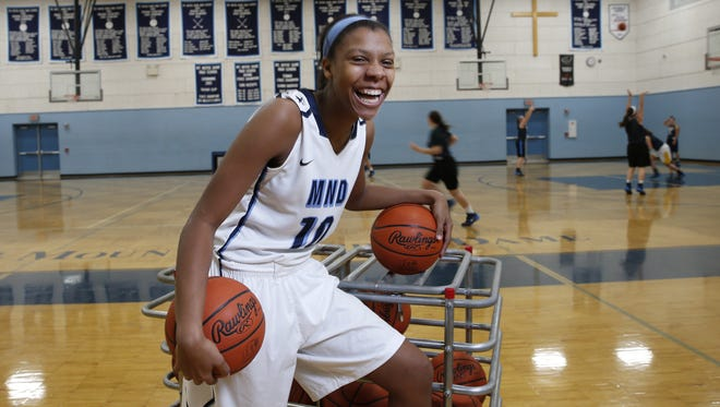 Mount Notre Dame's Naomi Davenport is committed to play at Michigan.